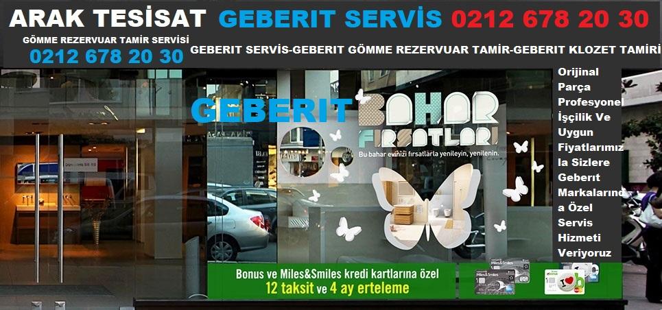 GEBERIT SERVİS EYÜP 0212 678 20 30