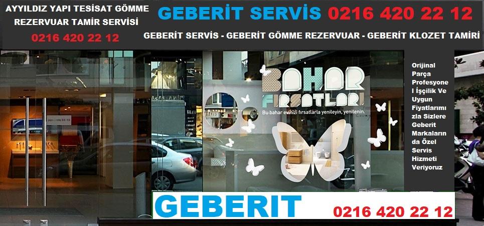 GEBERIT SERVİS 0216 420 22 12